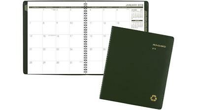 AT-A-GLANCE Recycled 2018 Monthly Planner 70260G ( GREEN)