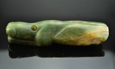 Excellent Ancient China Hongshan Culture Nephrite Jade Carved Mantis Pendant