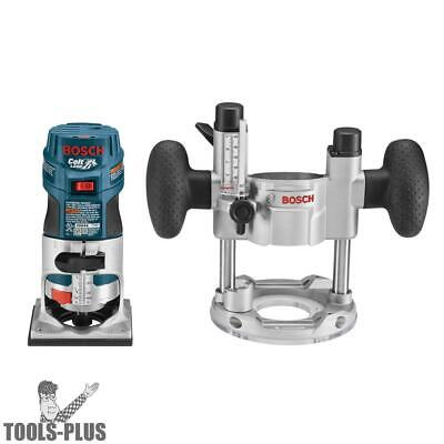 Bosch Tools PR20EVSPK 1 HP Colt Variable Speed Palm Router Combination Kit New
