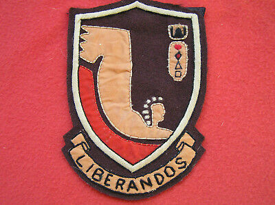 """284. WWII """"LIBERANDOs"""" 376th Bombardment Group Jacket patch."""
