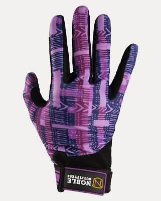 Noble Outfitters Perfect Fit Gloves - Geo Prints Horse Riding
