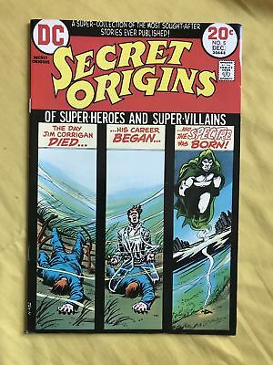 Secret Origins (1973-1974 1st Series) #5 VF Very Fine