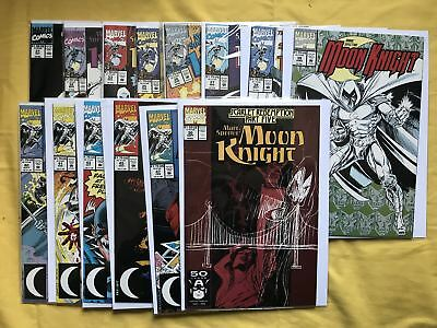 Lot of 39 Marc Spector Moon Knight (1989) from #2-47 VF-NM Near Mint