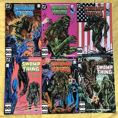 Lot of 13 Swamp Thing (1982 2nd Series) #42-47 49 129 135 144 148 VF Very Fine