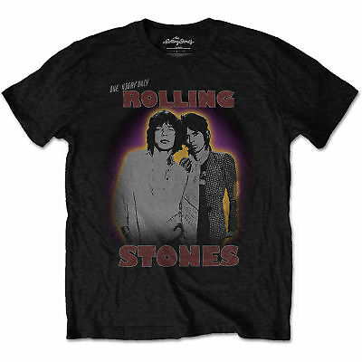 The Rolling Stones Mick Jagger Keith Richards 2 Licensed Tee T-Shirt Men