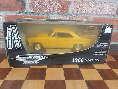 Ertl 1:18  American Muscle 1966 Chevrolet Nova SS Limited 1 OF 5000 Diecast