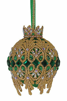 "SATIN BEADED CHRISTMAS ORNAMENT KIT - ""Padriag's Cloak"""