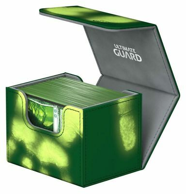 Ultimate Guard - Side Winder ChromiaSkin Deck Case 100+ Green Gaming Deck Case