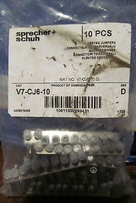 NEW Sprecher + Schun Center Jumpers V7-CJ6-10