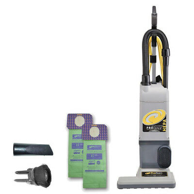 """ProTeam 107252 ProForce 1500XP HEPA 15"""" Commercial  Upright Vacuum Cleaner-NEW"""