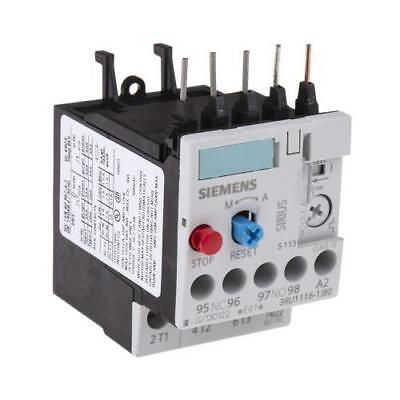 1 x Siemens Overload Relay, Sirius Classic, Direct Contactor, 7-10A, 10A, 4kW
