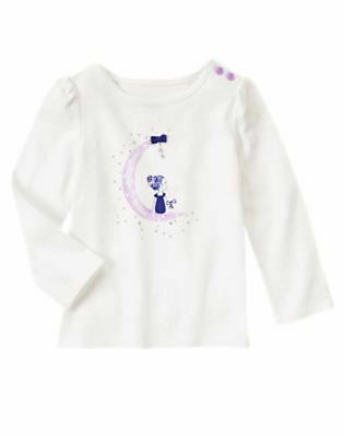 5ef6e4a5aa97 NWT GYMBOREE LAVENDER Bunny Size 5T White Gray Kitty Knitting Cat ...