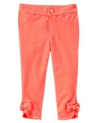 Beautiful Nwt 4t Gymboree Pink Pants Bows On Ankles Clothing, Shoes & Accessories
