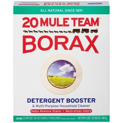65 oz Borax  20 Mule Team Natural Laundry Booster FAST SHIPPING!
