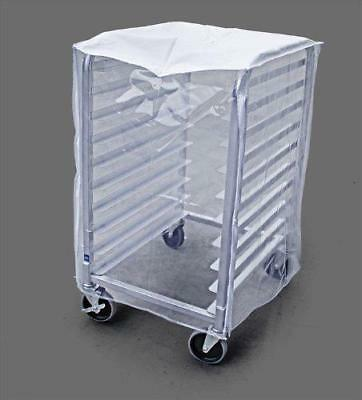 New Star Foodservice 36534 Commercial Sheet Pan Rack Cover, PVC, 10-Tier, 28 x
