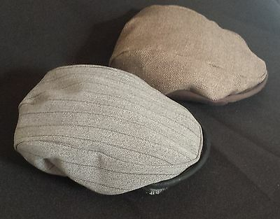 2 Pack of Babies Flat Caps.Three Styles available. Made in the UK