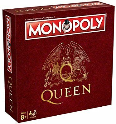 Queen Monopoly Family Board Game New Sealed
