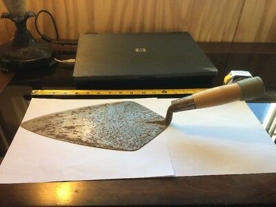 "W. Rose 11"" Trowel With Wood Handle Preowned"