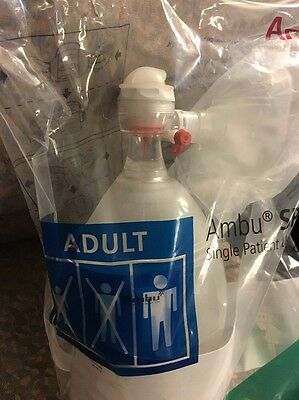 520611000 Ambu Spur II Adult Resuscitator w/ Adult Medium Mask