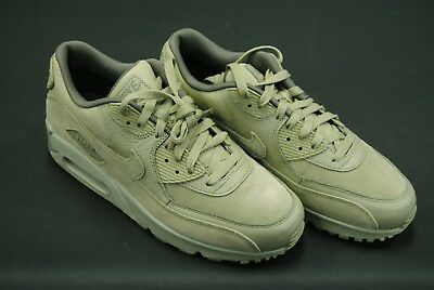 ed1063438fb  700155 202  New Men s Nike Air Max 90 Premium Suede Neutral Olive Green  Le993