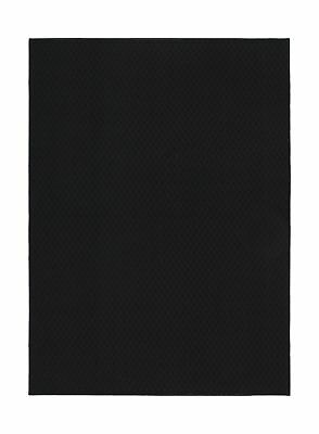 Garland Rug Town Square Area Rug, 5-Feet by 7-Feet, Black 2DAY SHIP