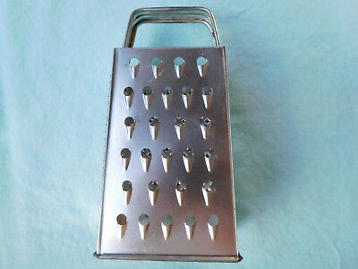 Vintage Bromwell Four Sided Grater/shredder Usa #419 - 5 1/2 Inches Tall