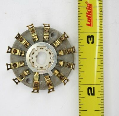 Centralab PA-71 1 Pole 11 Position Non-Shorting Mycalex Rotary Switch Wafer 1pcs