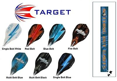 Phil Taylor Target Vision Edge Dart Flights - NEW RELEASE (choose your colour)