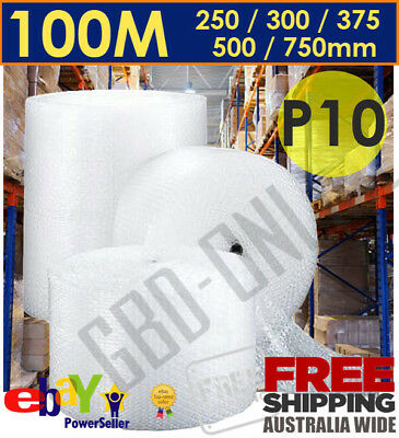 Bubble Cushioning Wrap Clear Polycell P10 10mm - Various Sizings Free Shipping
