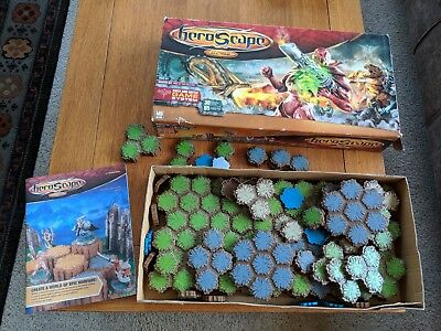 HEROSCAPE TILES - a big box full of them - TILES ONLY