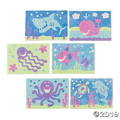 Under the Sea Ocean Children's Kids Sand Art Craft Kits. 6 Designs available