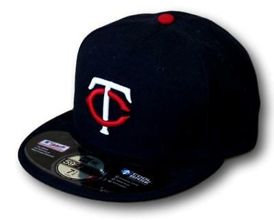 New Era 59Fifty MLB Authentic Collection Minnesota Twins Baseball Cap Hat