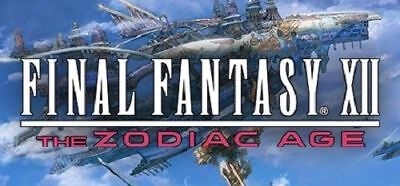 FINAL FANTASY XII THE ZODIAC AGE- PC Global Play - Not Key/Code - Günstigst