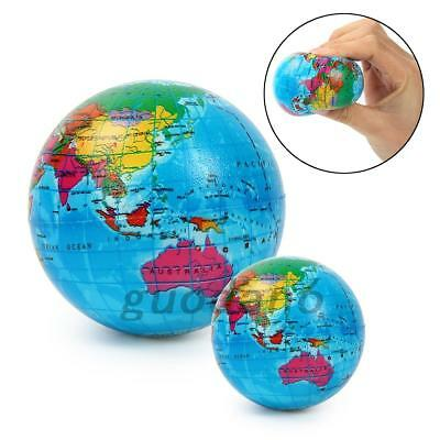 World map earth globe ball squeeze stress relief palm foam play toy world map earth globe ball squeeze stress relief palm foam play toy hot gumiabroncs Choice Image