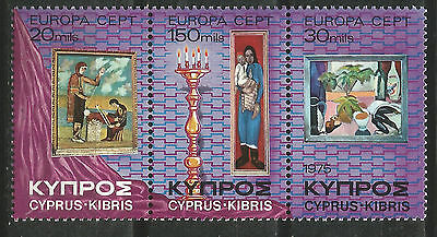 Cyprus Cyprus EUROPE cept 1975 Without Fijasellos MNH