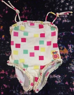 Run Scotty Run Baby Girls Bathers Size 0