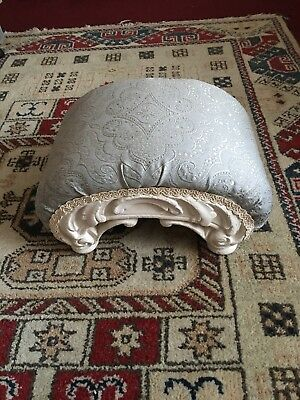Antique Curved Foot Stool
