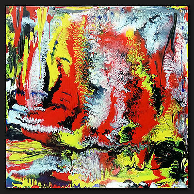 "Thomas VISALIUS: "" Firestarter "" Original Painting Acrylic on Canvas Unicum"