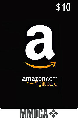 $10 Amazon Card 10 Dollar Code - Fast & Free Email delivery - USA Amazon ONLY