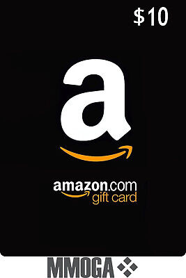 $10 Amazon Gift Card 10 Dollar - Fast & Free Email delivery - USA Amazon ONLY