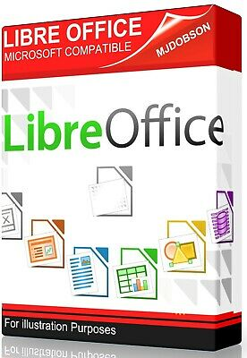 Office Pack Libre Office 2018 - - Full Microsoft Windows Compatible DVD