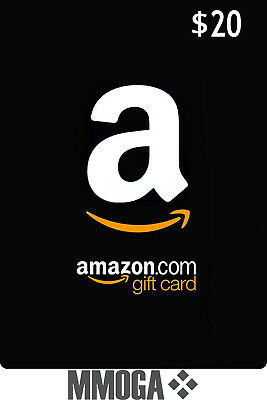 $20 Amazon Card 20 Dollar Code - Fast & Free Email delivery - USA Amazon ONLY