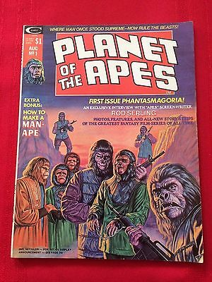 Planet Of The Apes #1 (1974) Marvel/Curtis Magazine Esposito, Ploog, Tuska