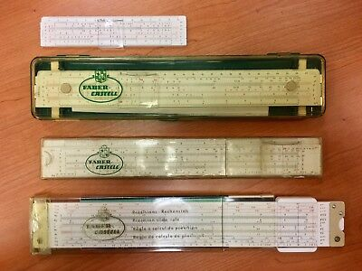 Faber Castell Slide Rule collection