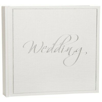 "Signature Wedding Photo Album Large - Holds 50  6 x 4"" Photos Pictures"