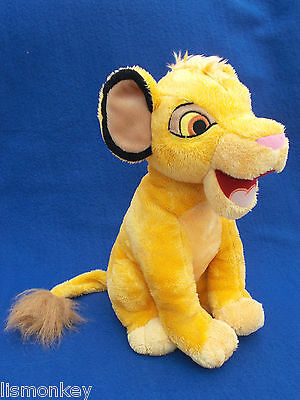 Simba Soft Toy Disney Lion King Teddy Plush Cuddly Toy Disneyland Paris 29 cm