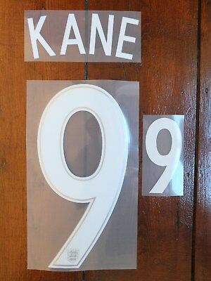 Sporting id Name Block & Number England Shirt Print Set Tottenham KANE 9 white