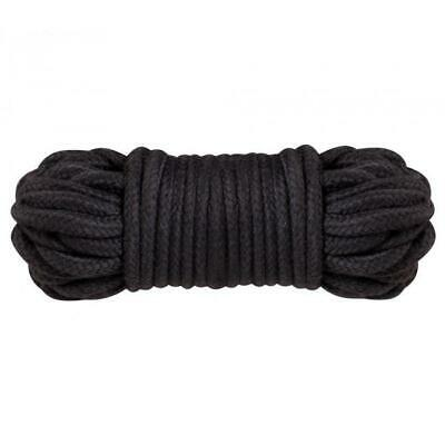 Black Japanese Silk Bondage Rope Soft To Touch Tie Up Fun Different Lot Lenghts