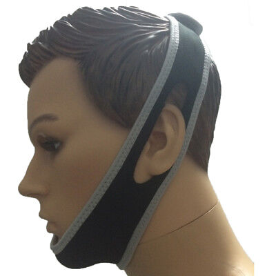 NO SNORE Anti Snoring Jaw Belt Support Chin Straps