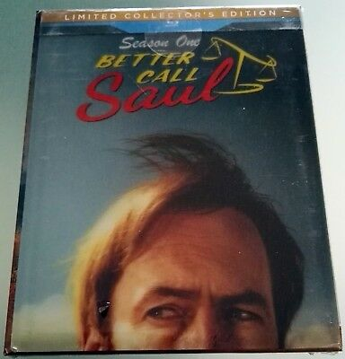 Better Call Saul Stagione 1 Limited Collector's Edition 3 Blu Ray